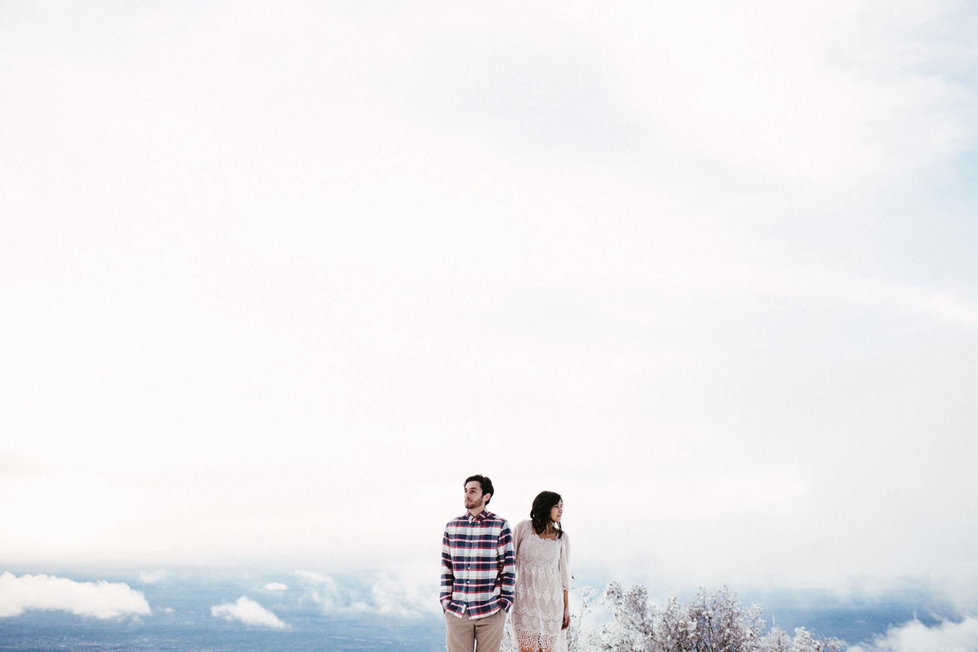 Sandia Peak Couple