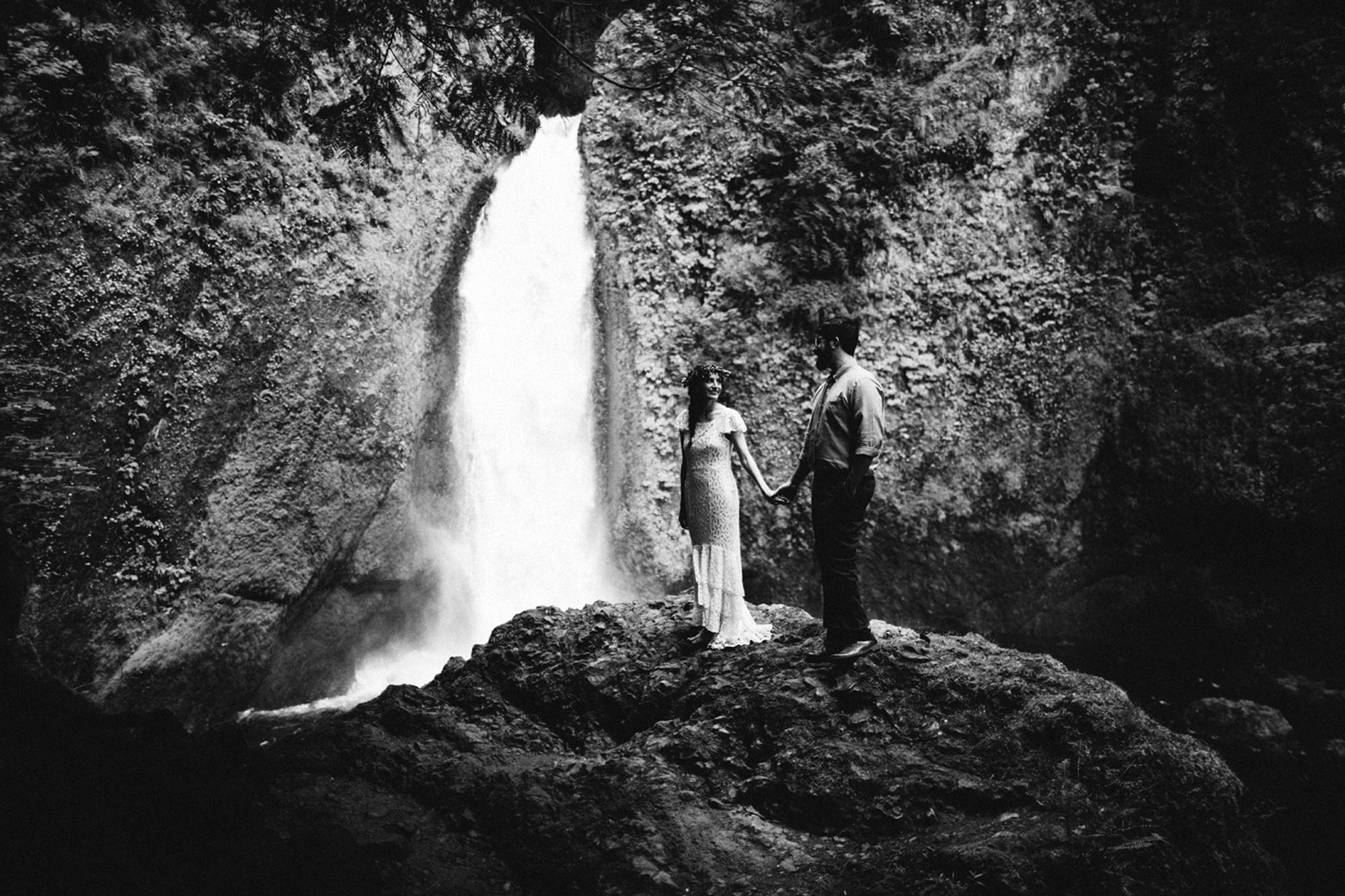 Portland Elopment Water Fall