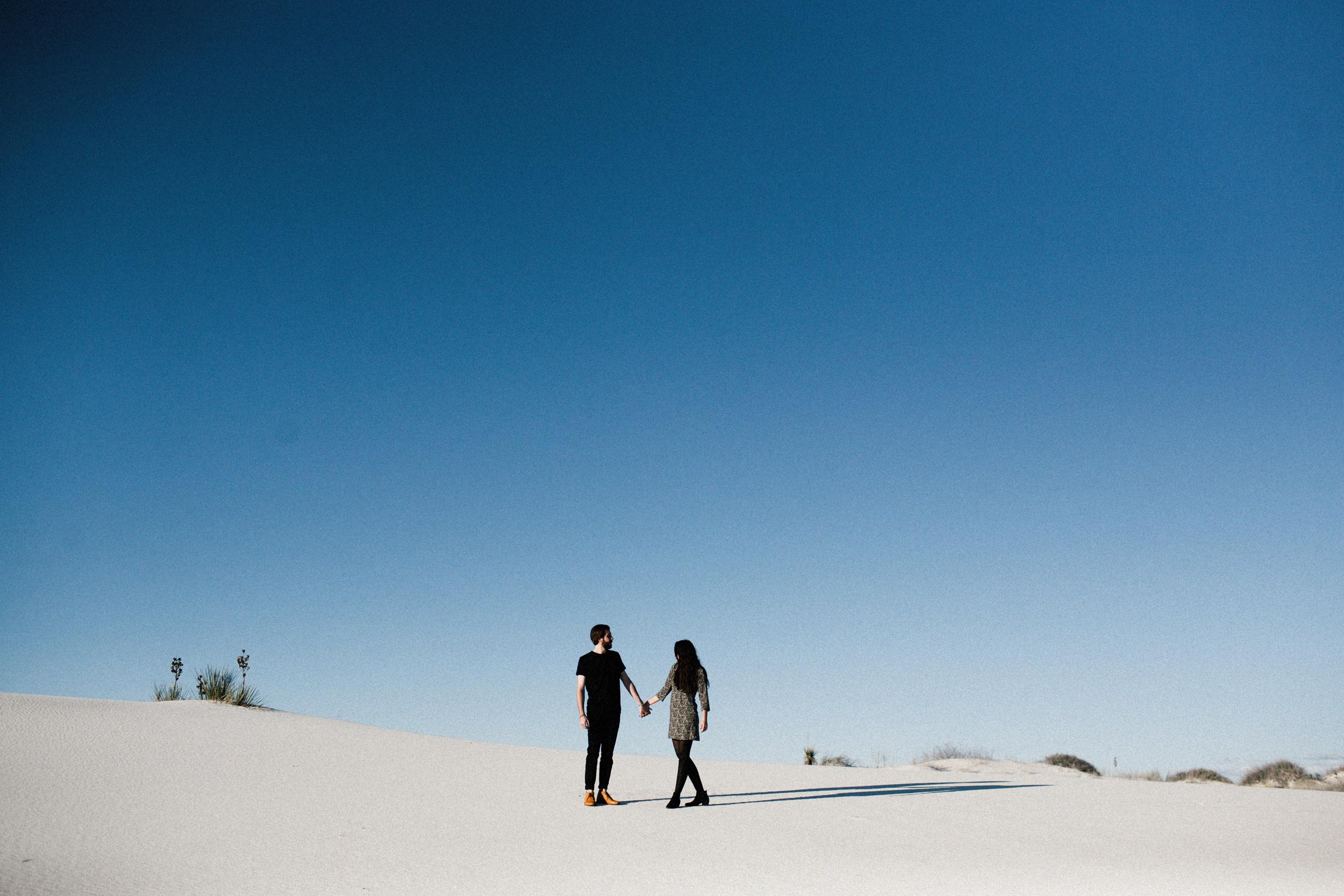 white sands portrait