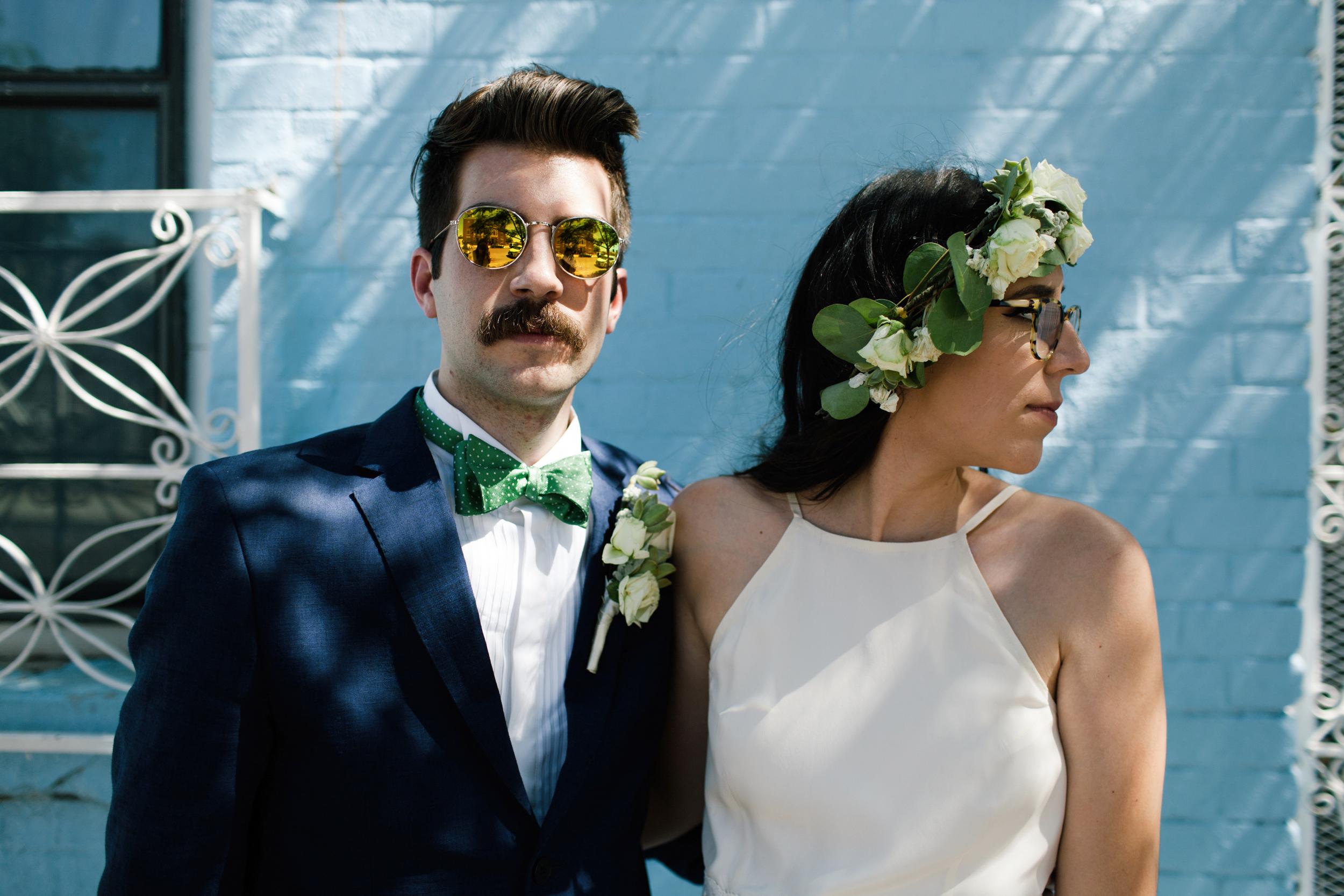 texas hipster couple