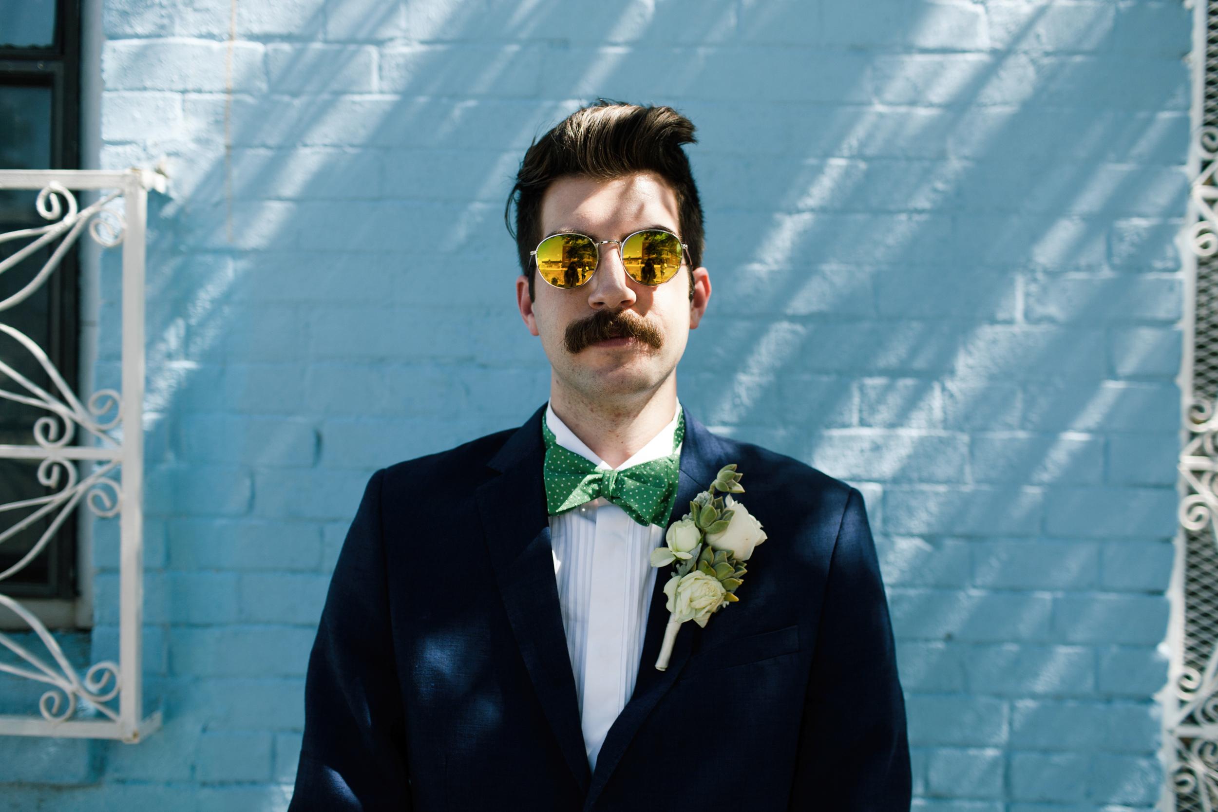 texas hipster groom