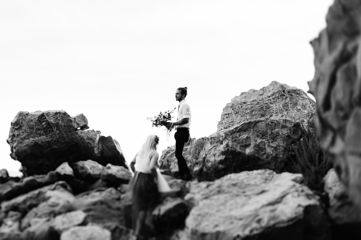 little corona wedding