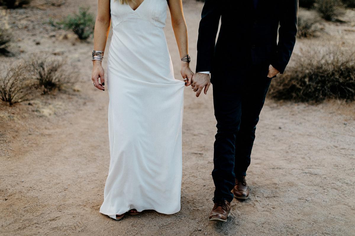 arizona desert elopement