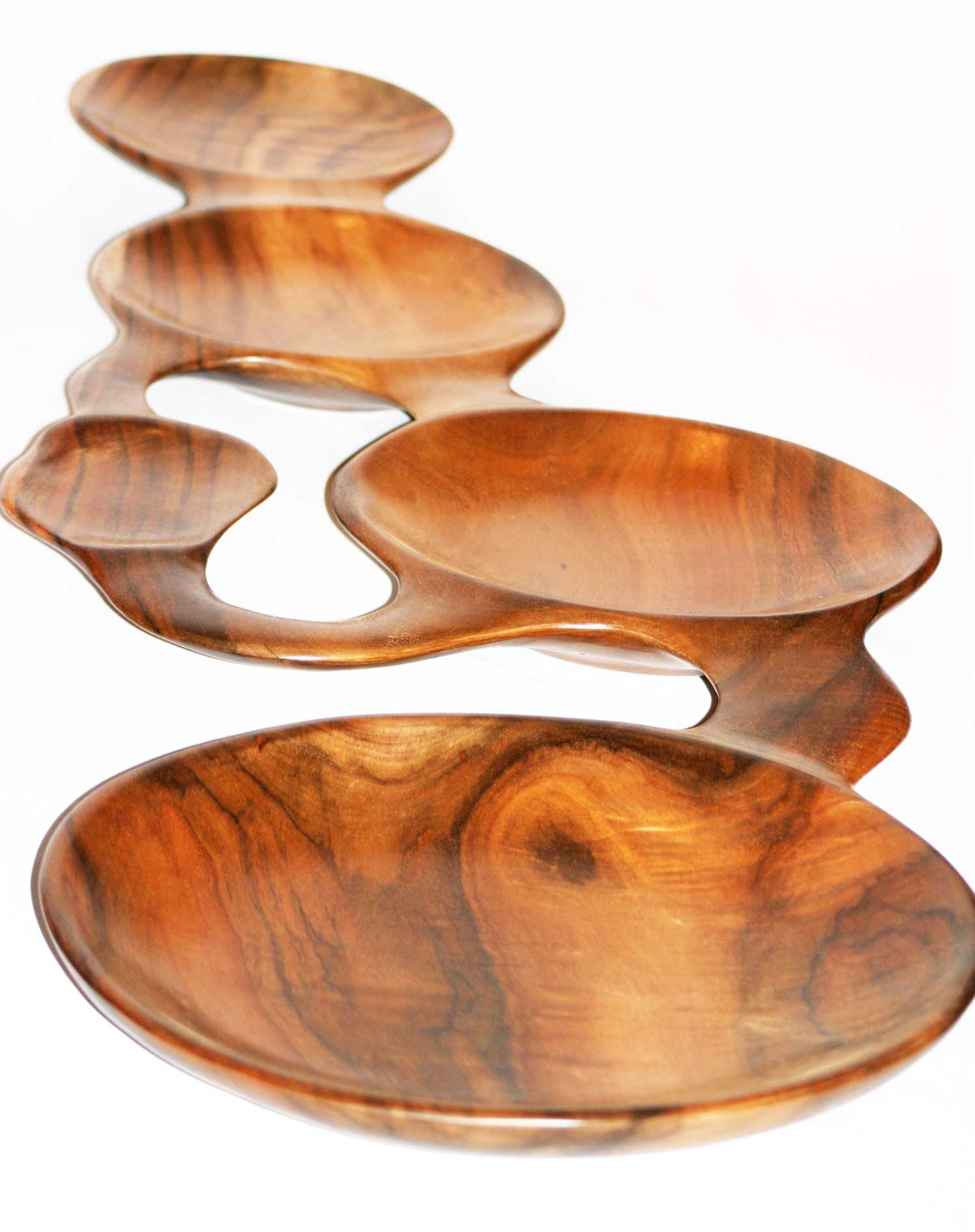 Unique Koa wood platter