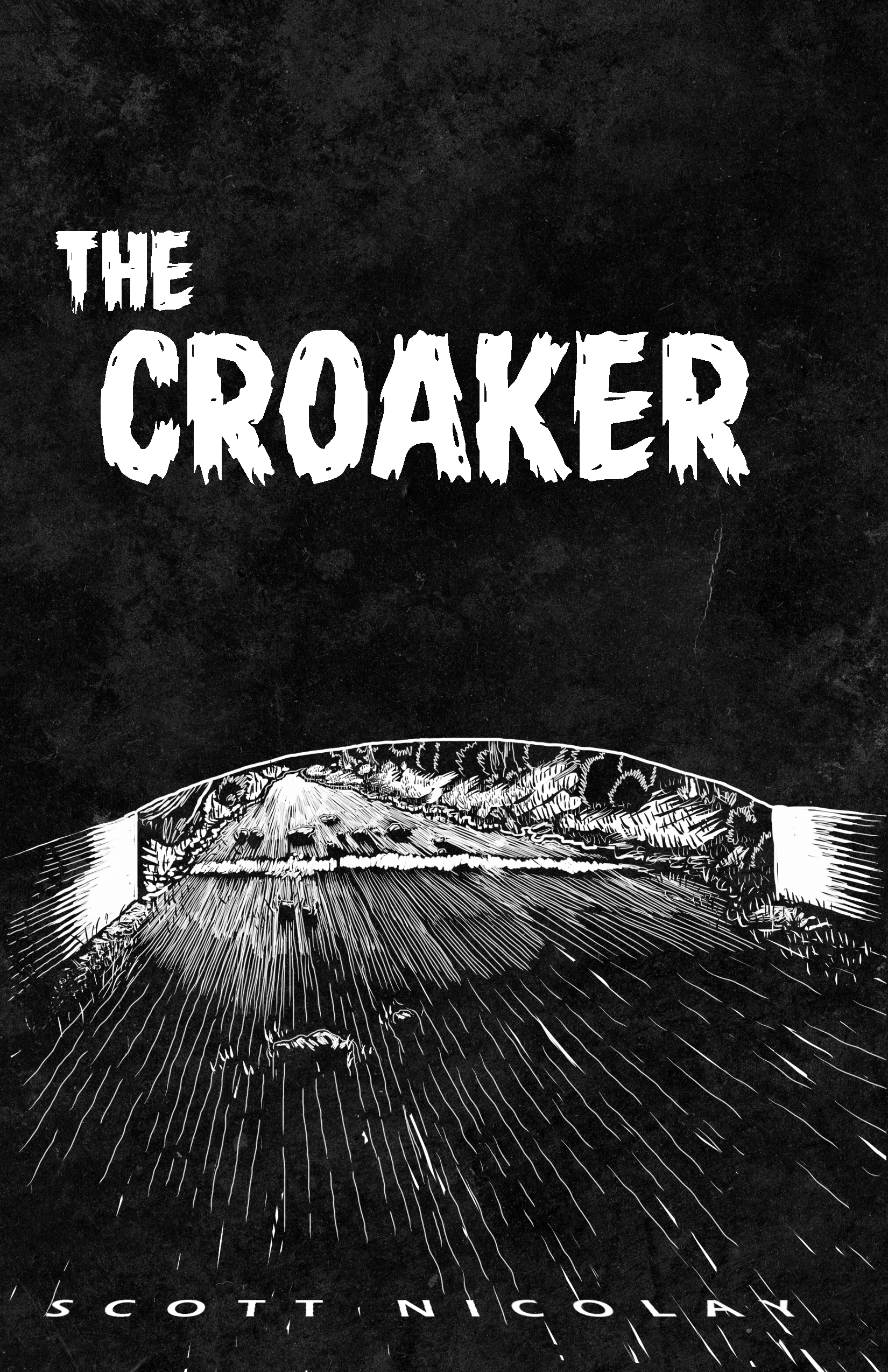 'The Croaker' by Scott Nicolay, promo art (2016)