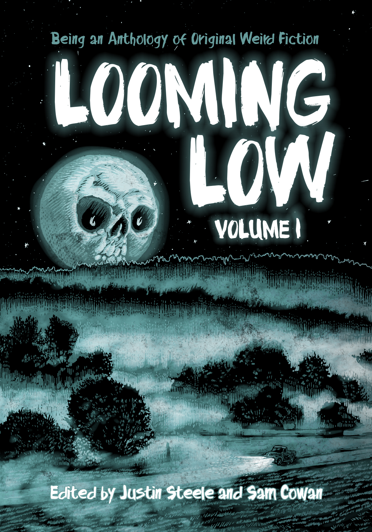 'Looming Low' book cover (Dim Shores, 2017)