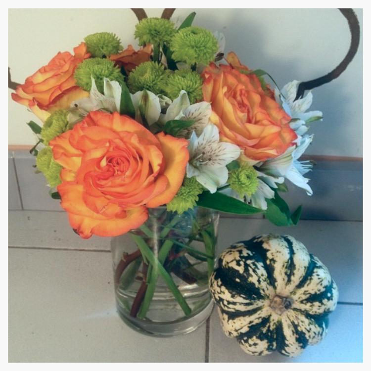 An arrangement we made for a dinner.