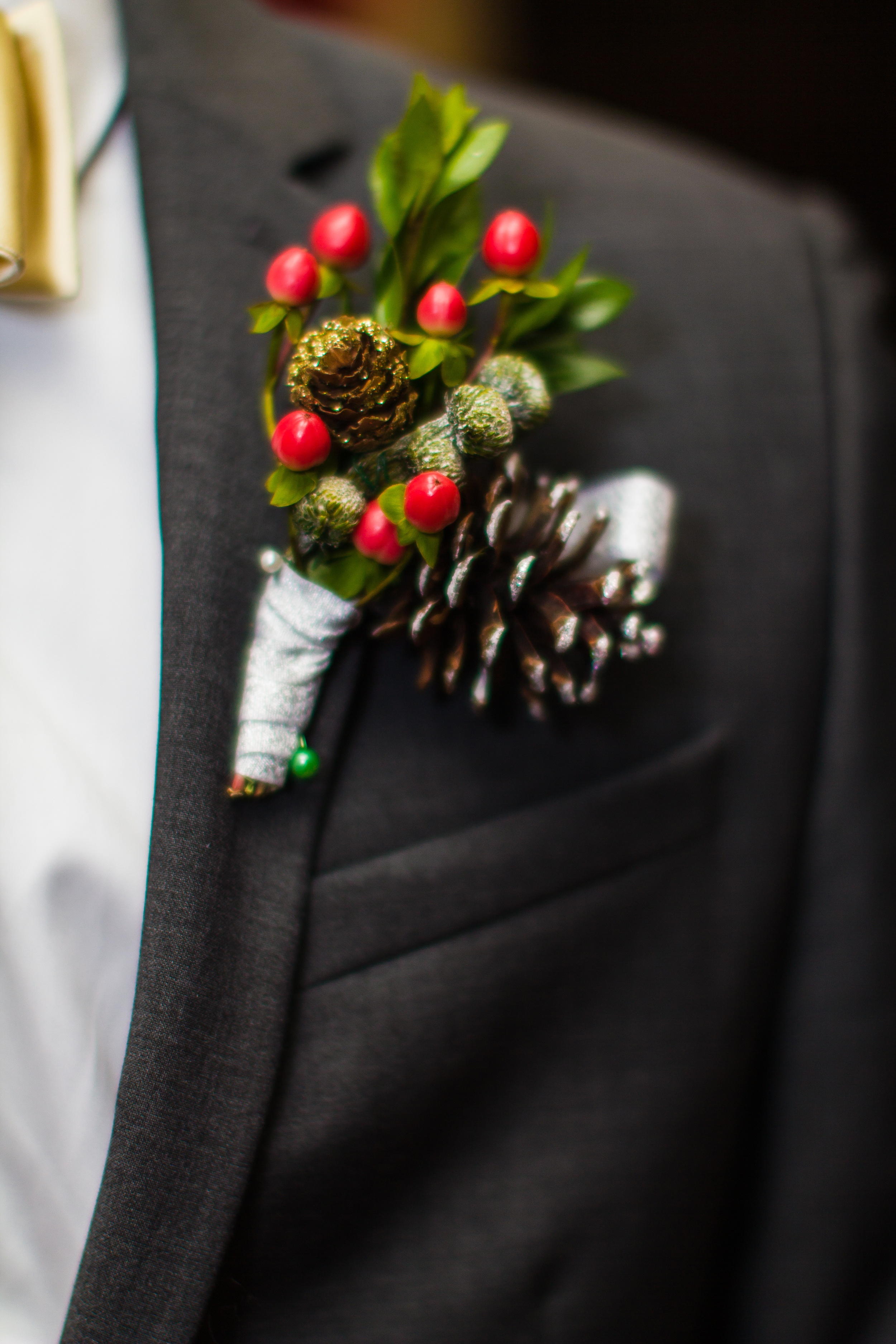 Groom's boutonniere Taken by DNSnaps Photography
