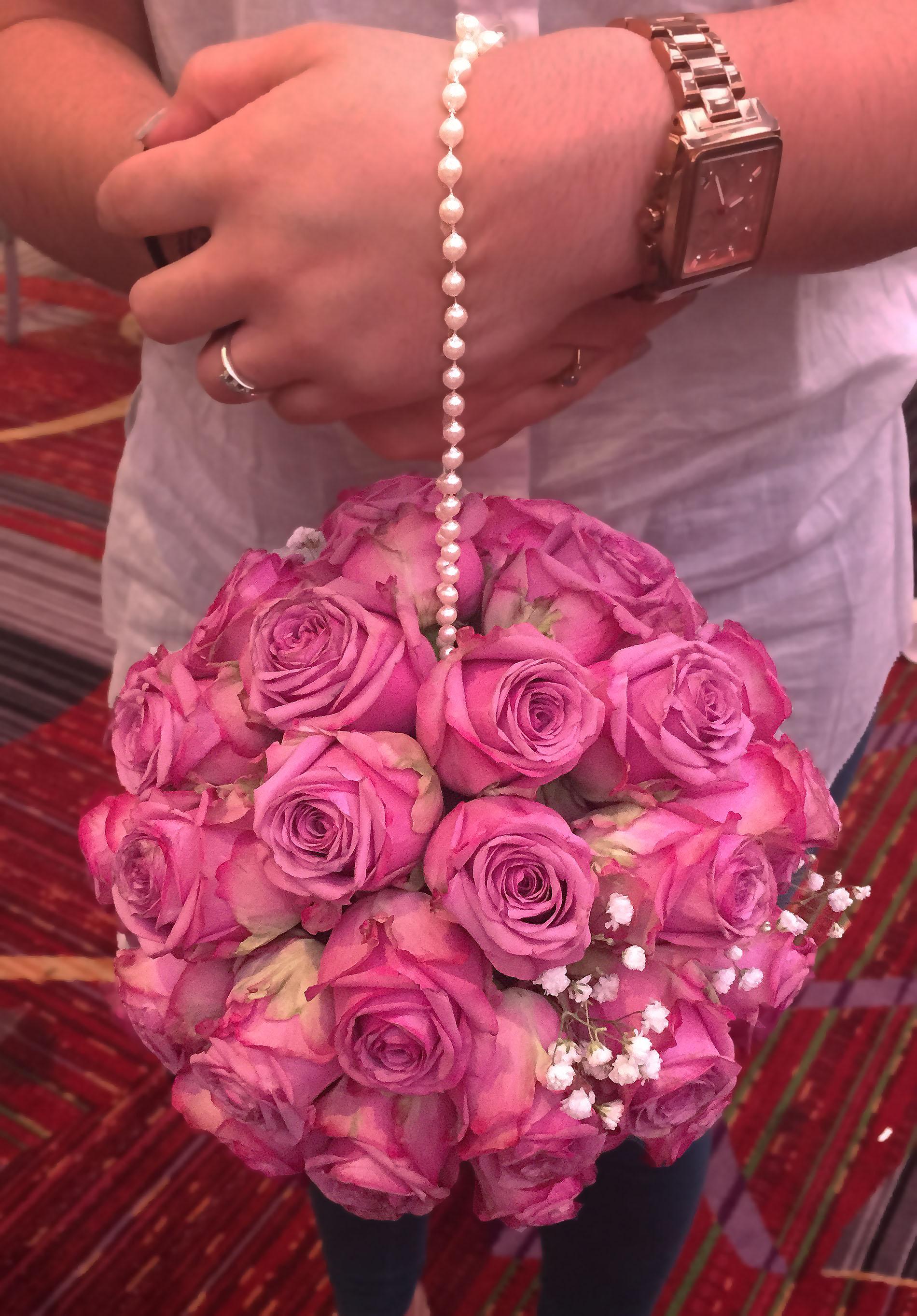 Evelisa Floral & Design: Pomander Bouquet