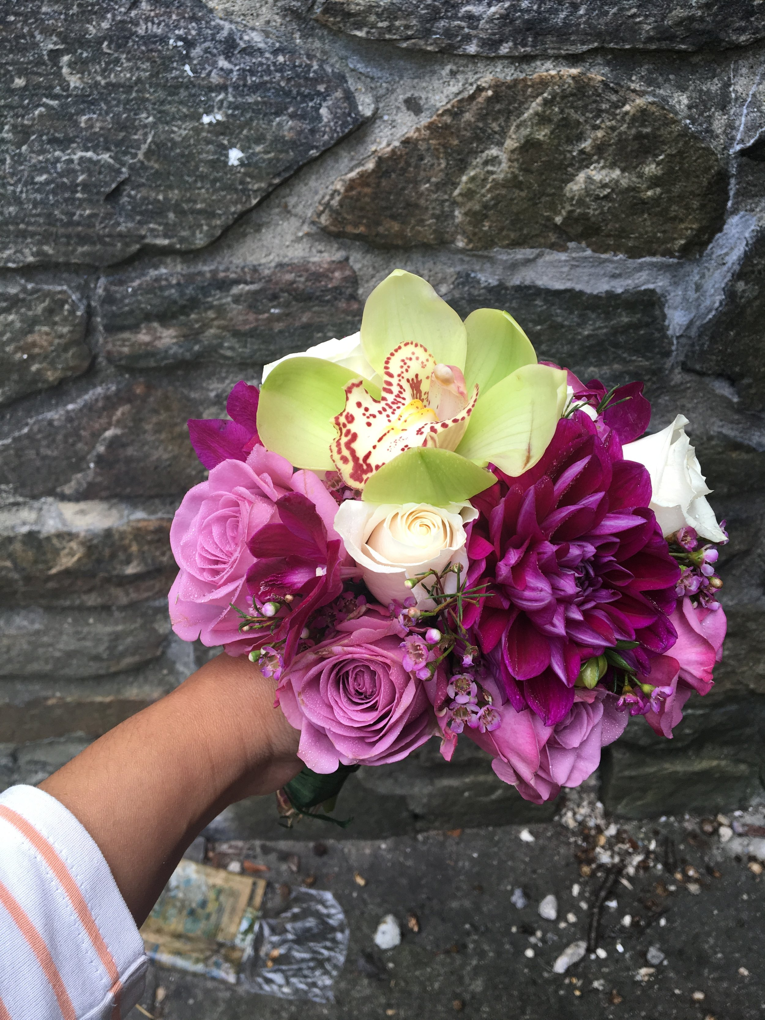 Evelisa Floral & Design: Bridesmaid's bouquet
