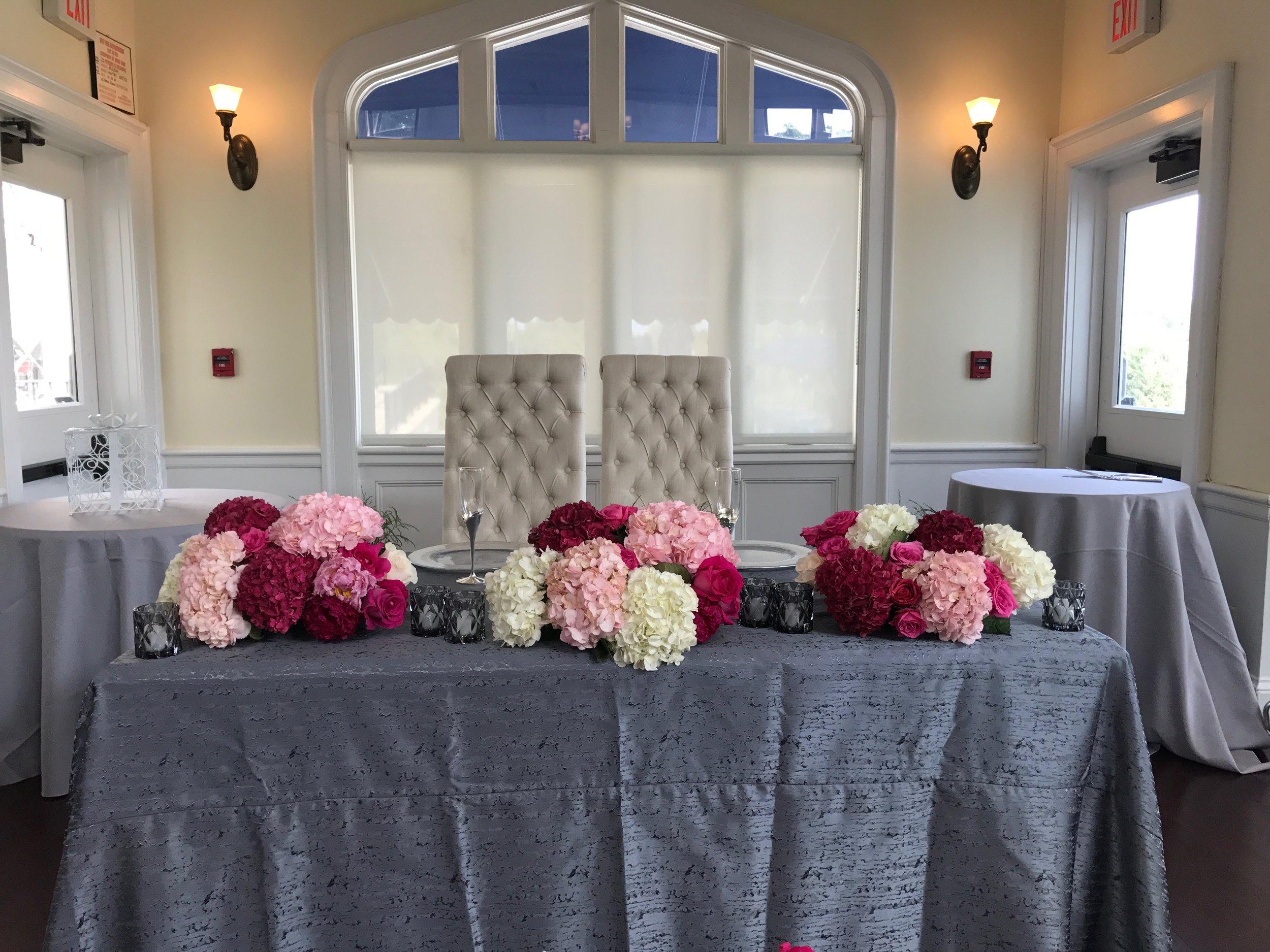 Evelisa Floral & Design: Sweethearttable design