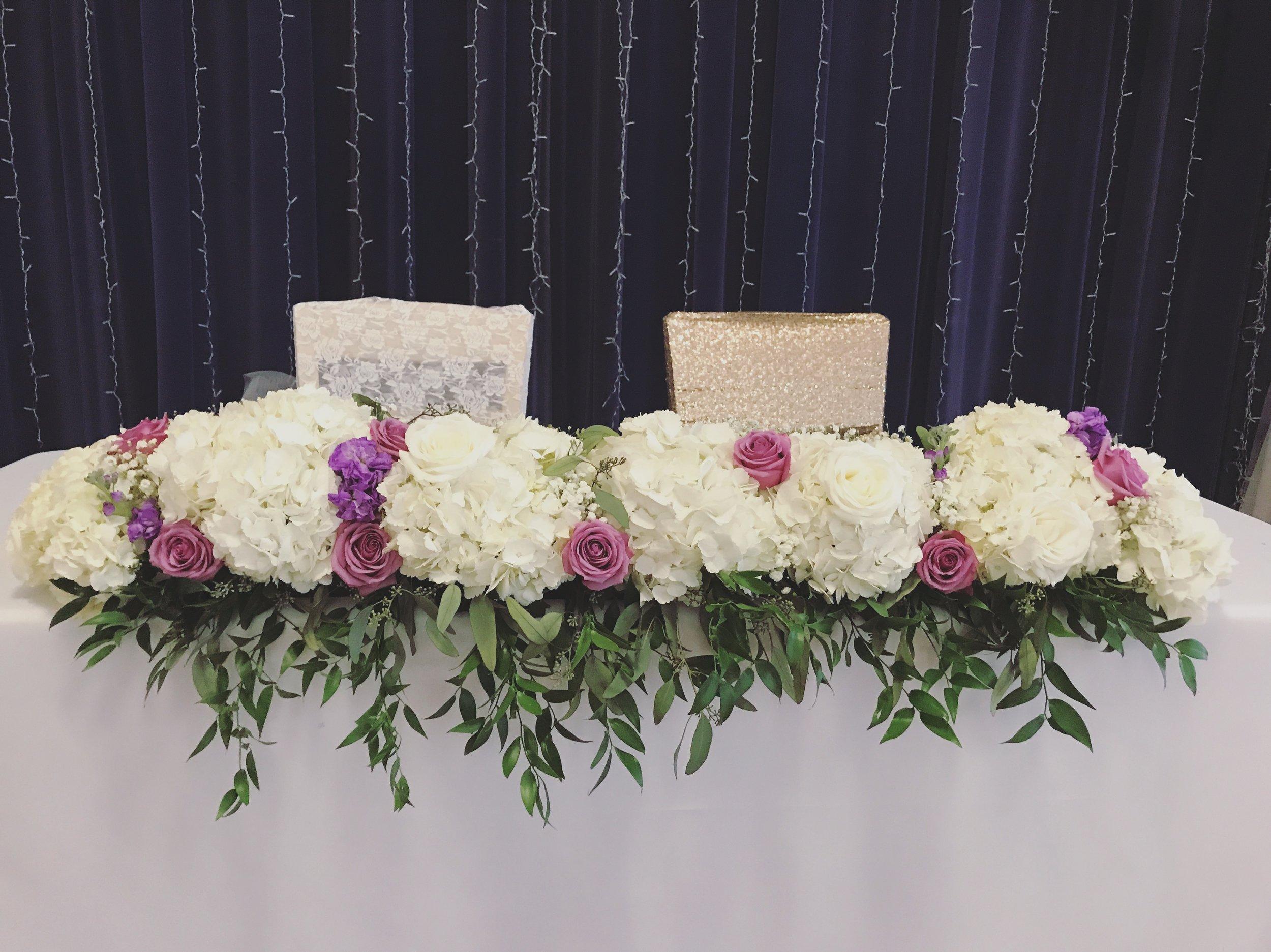 Evelisa Floral & Design: Sweet table design