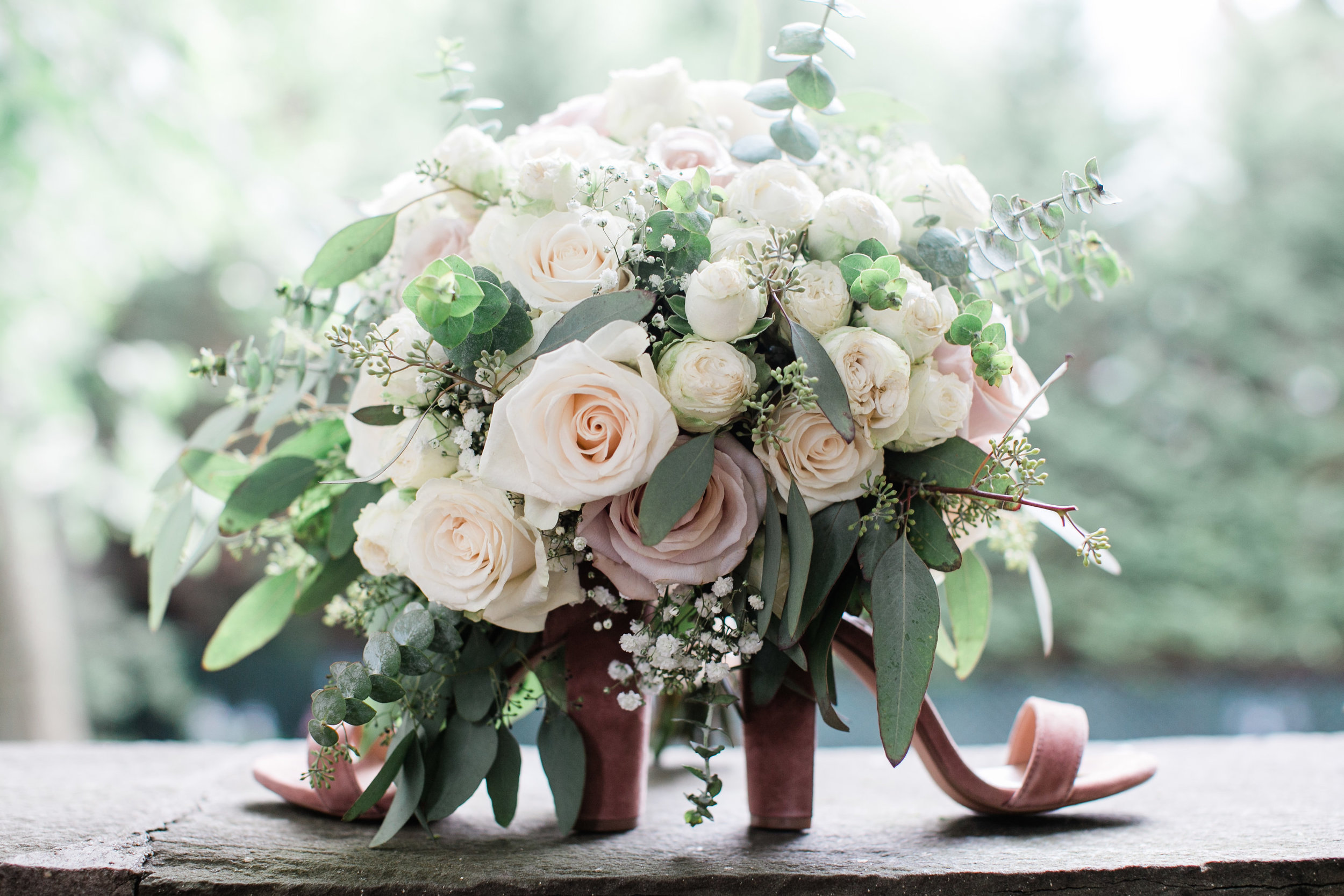 Photographed by:  Fabiene Photography , Handtied Bouquet created by Evelisa Floral & Design