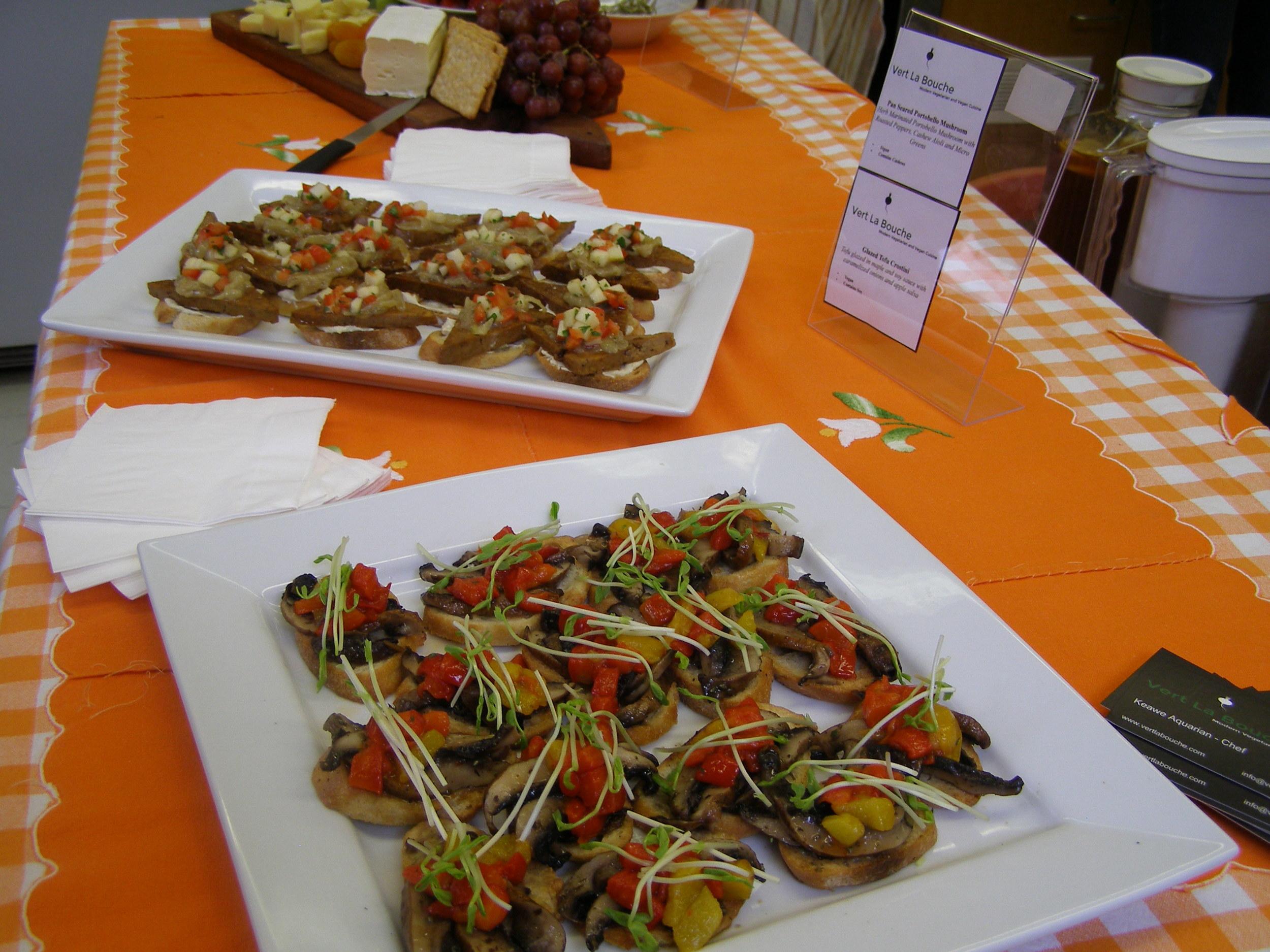 vegan and vegetarian Catering Montreal