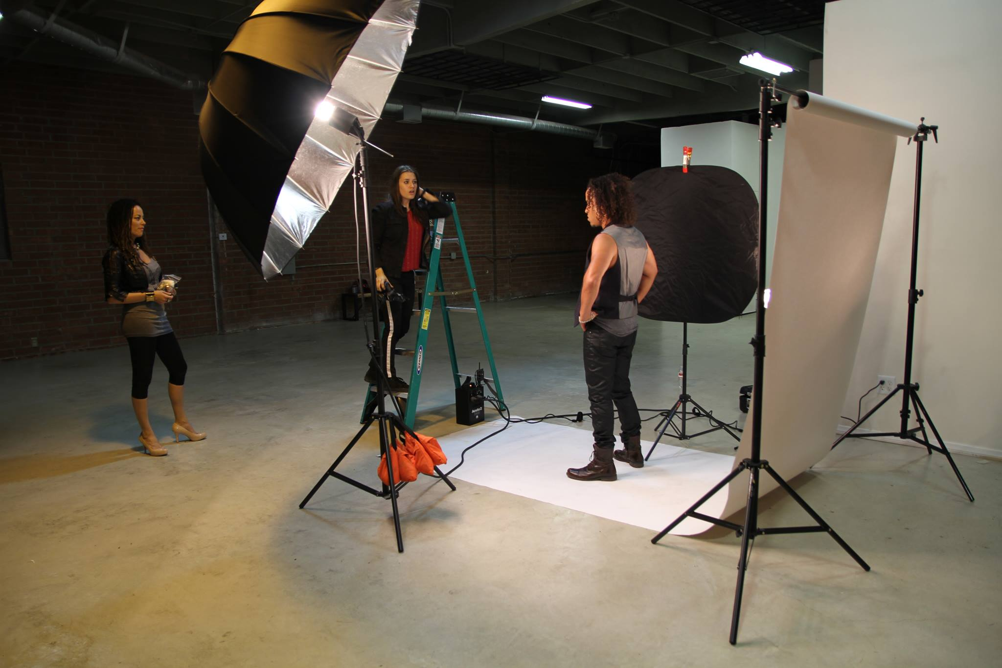 Album Art Shoot with Bancs Media and artist Black Lighters