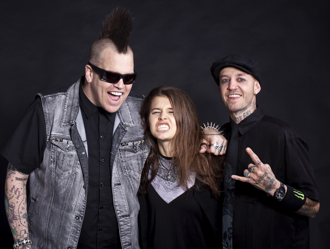 """In the Studio with Pro BMX Rider and musician Rick Thorne and Drummer Anthony """"Tiny"""" Biuso"""