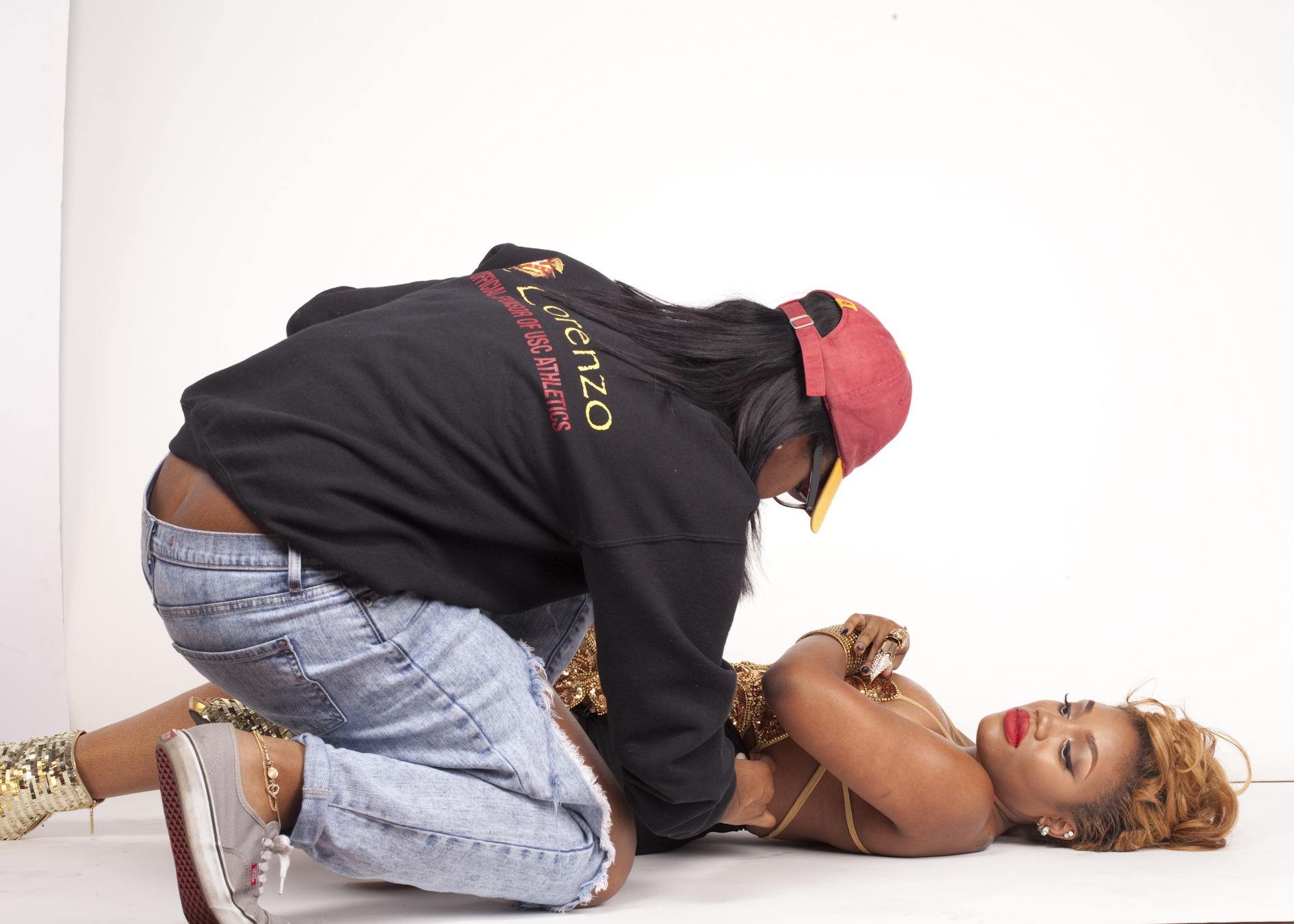 Behind the scenes with Keda's Album Cover shoot.