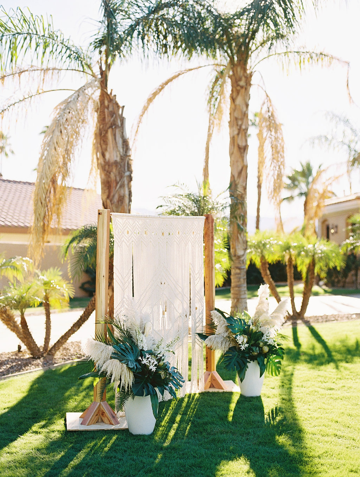 Phi and Alannas Backyard Wedding in Palm Springs California 17.jpg