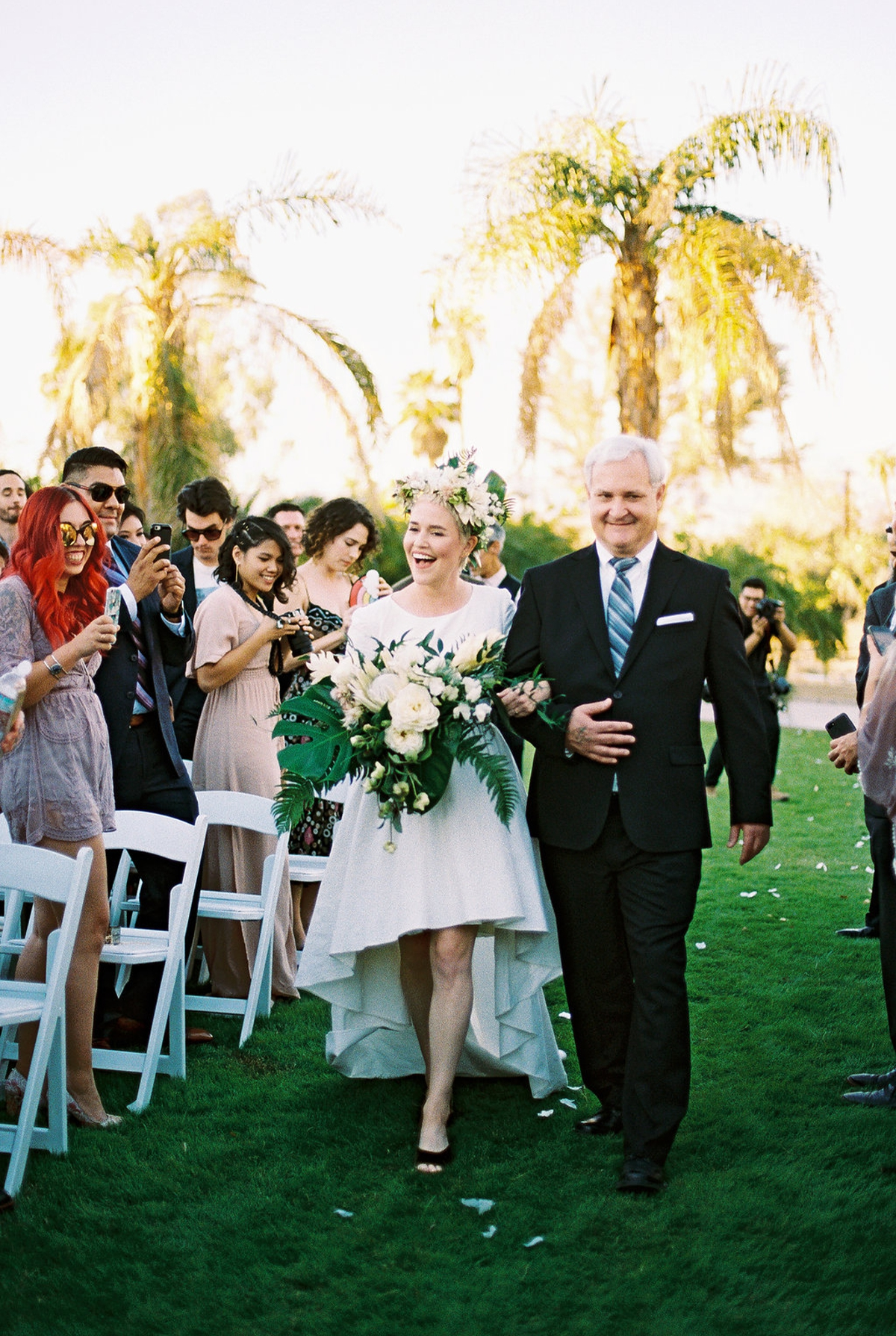Phi and Alannas Backyard Wedding in Palm Springs California 20.jpg