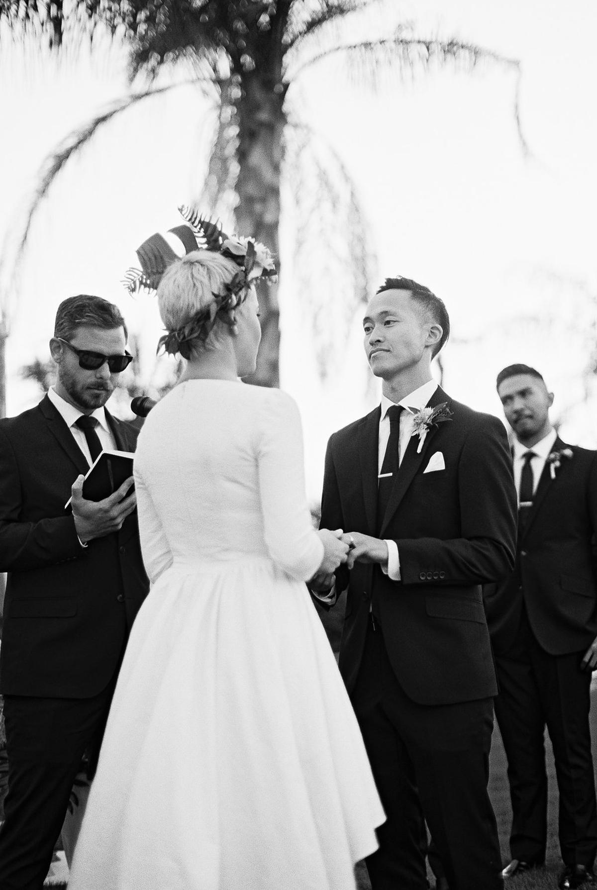 Phi and Alannas Backyard Wedding in Palm Springs California 21.jpg
