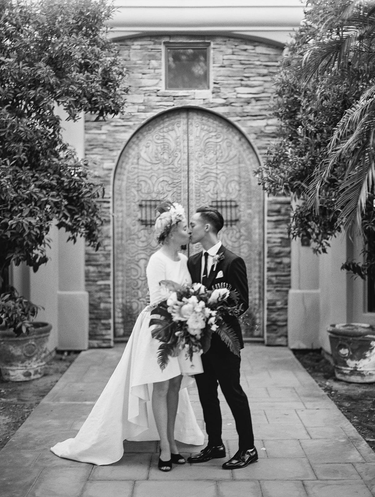 Phi and Alannas Backyard Wedding in Palm Springs California 27.jpg