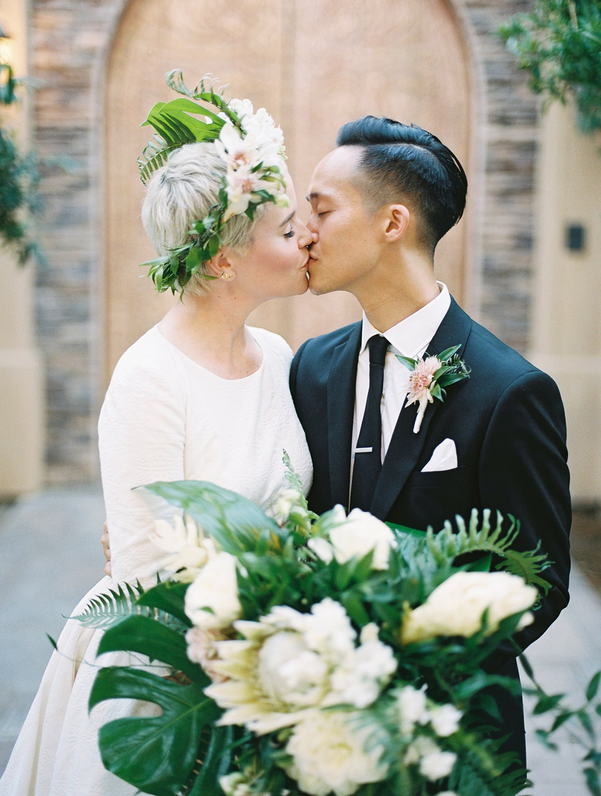 Phi and Alannas Backyard Wedding in Palm Springs California 29.jpg