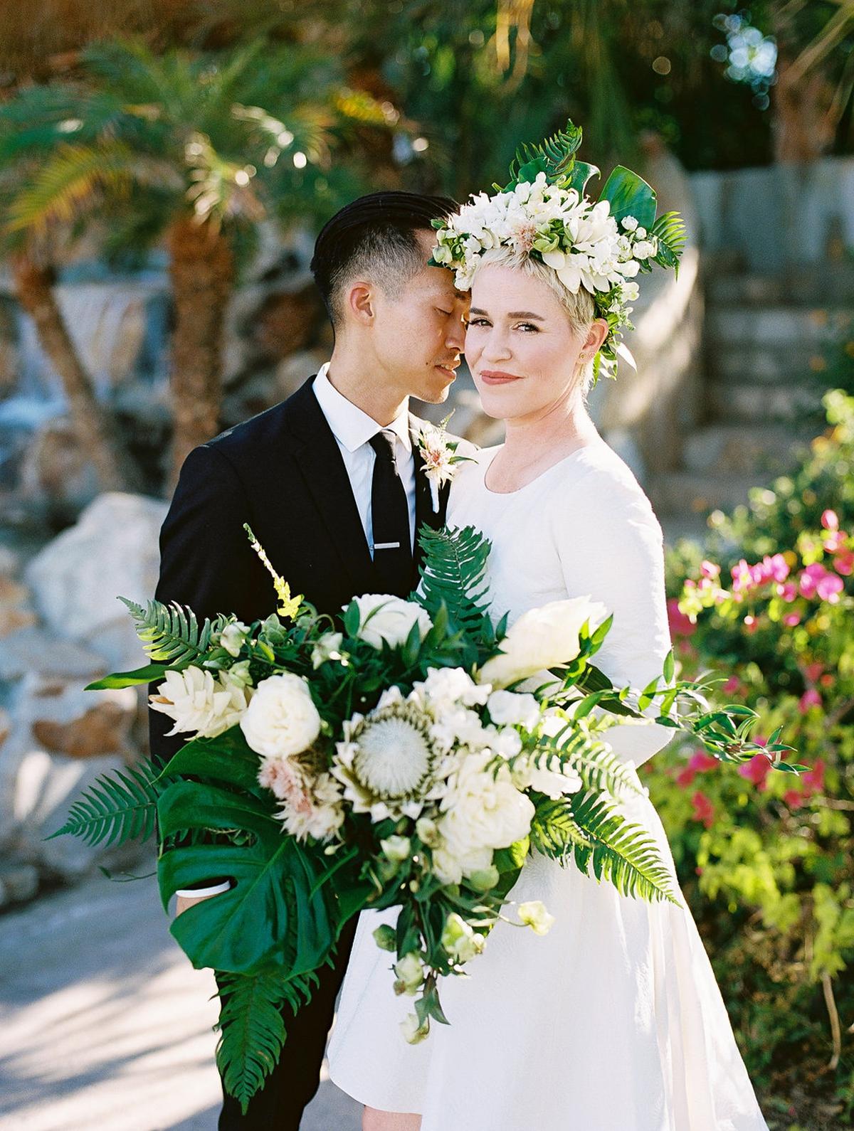Phi and Alannas Backyard Wedding in Palm Springs California 30.jpg