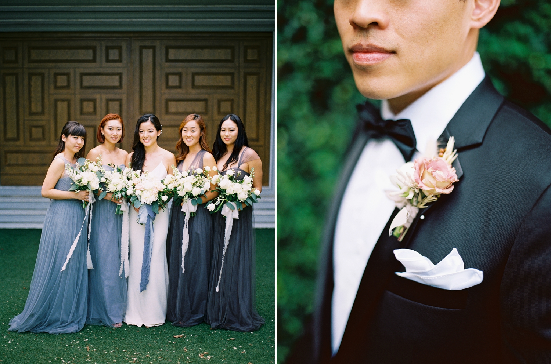 bridal party photos in thailand
