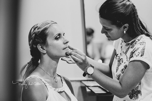 Make-up time with @estetica_mayte  Como siempre hermoso trabajo Mayte. 👏🏻👏🏻👏🏻👏🏻#makeupartist #beautifulbride #weddingsinspain #destinationwedding