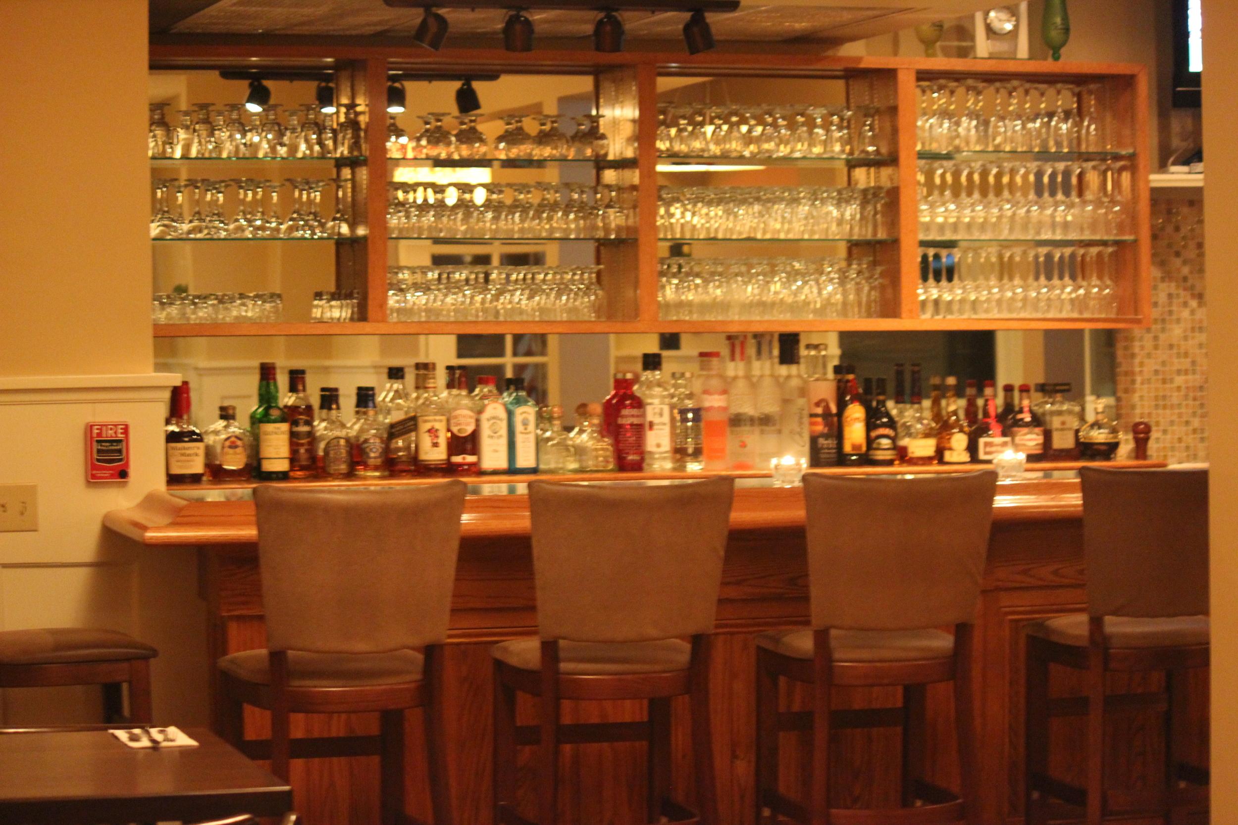 We have a  full bar  here at Rhea's as well as a quality wine and craft beer menu.