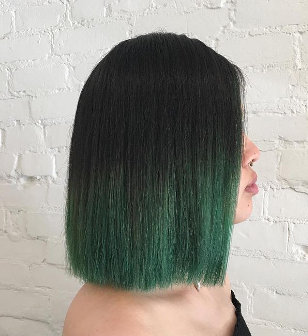 Green Hair by Sam