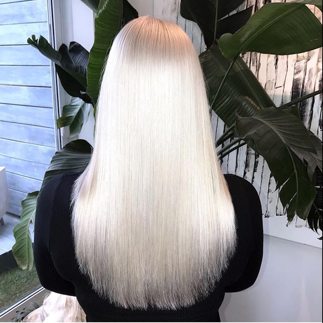 Platinum Hair by Ryan