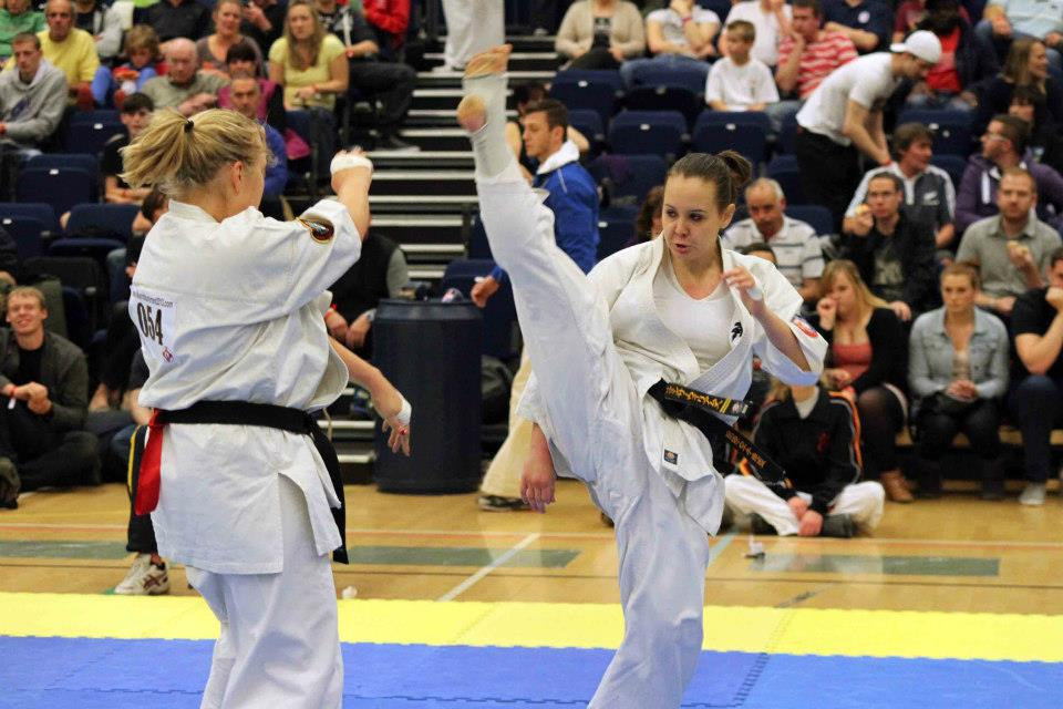 Samantha Williams on her way to the title