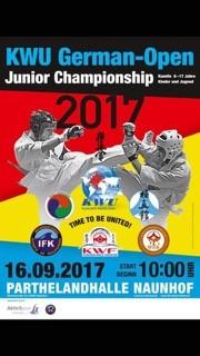 KWU German Open - Junior ChampionshipsMore information to follow.