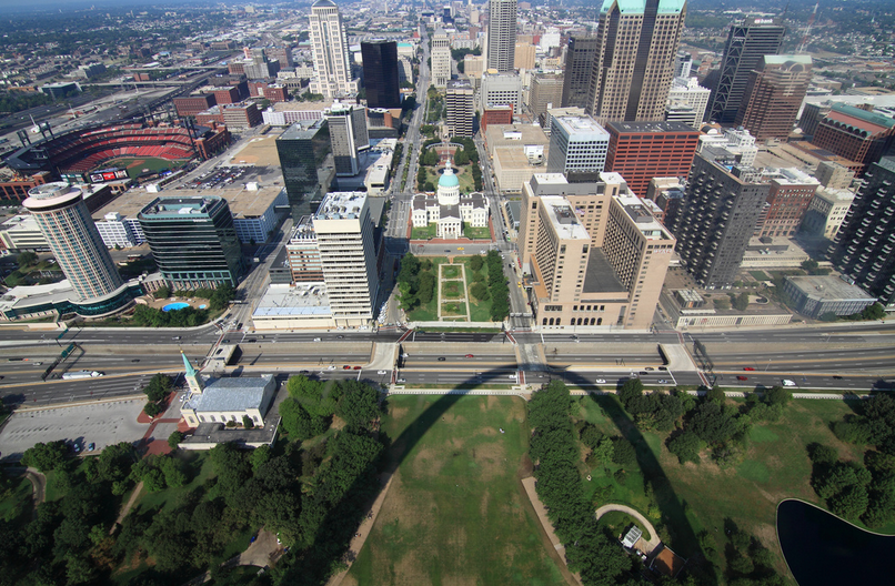 Another view from the Arch