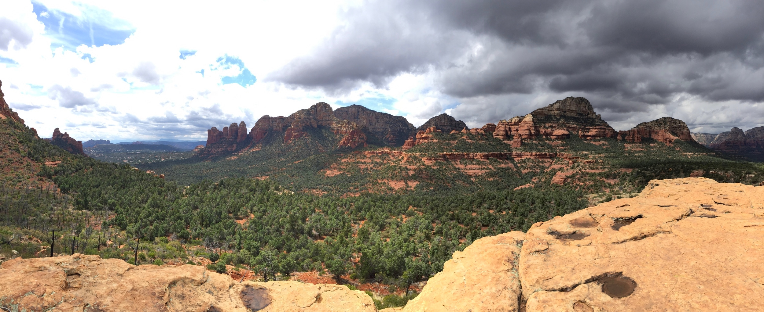 View from Soldiers Pass hike in Sedona
