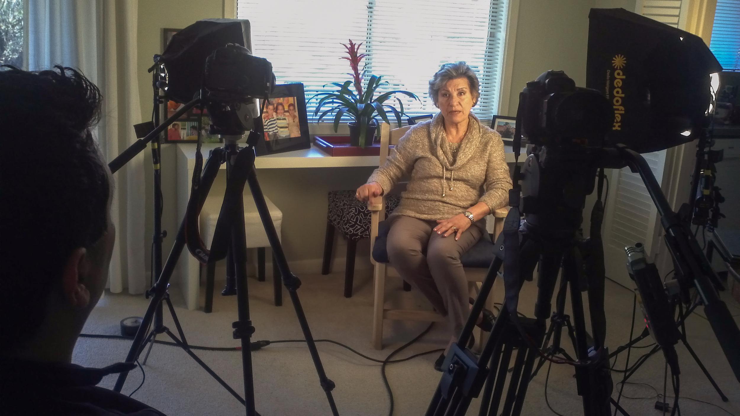 Interviewing Frieda Castellanos - Washington, DC