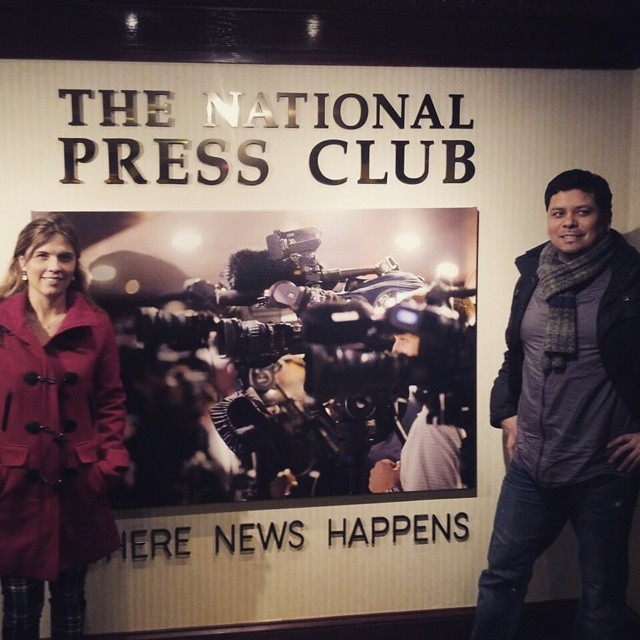 #nationalpressclub washington DC