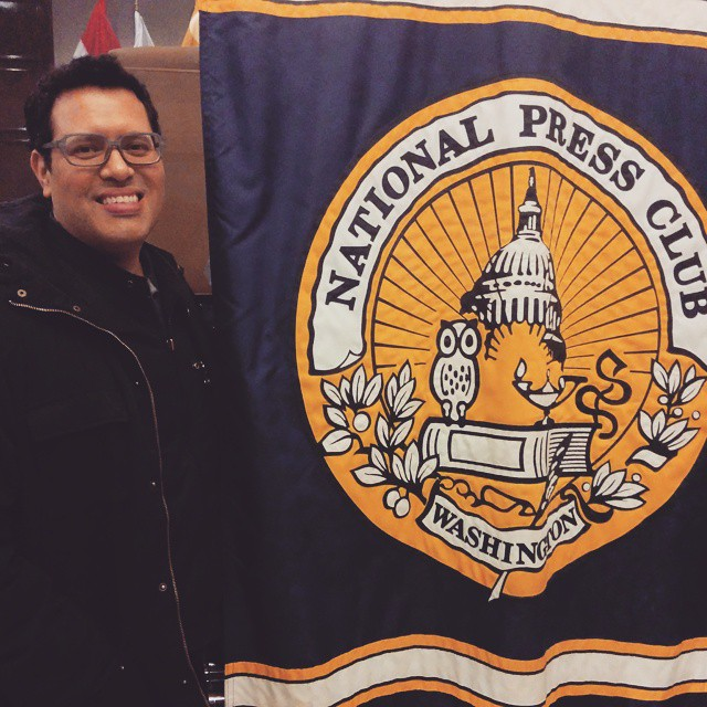 At the #nationalpressclub  in Washington DC