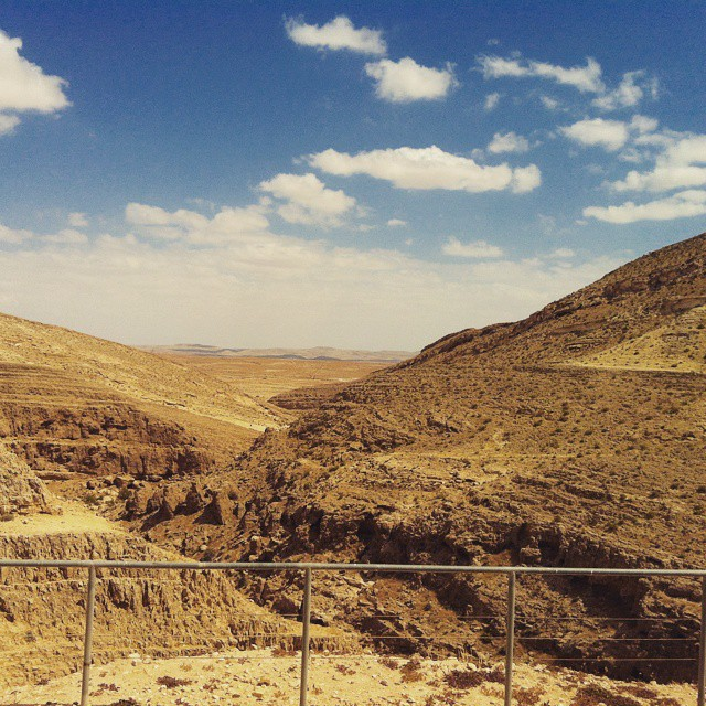 #mamshit national park - #israel while shooting - April 2013