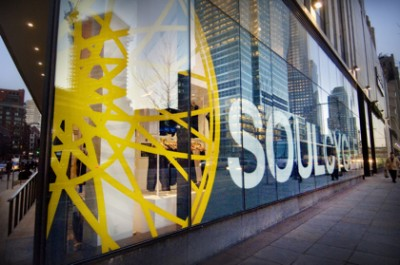 SoulCycle's TriBeCa flagship location