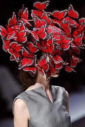 Alexander McQueen, Butterflies, 2008