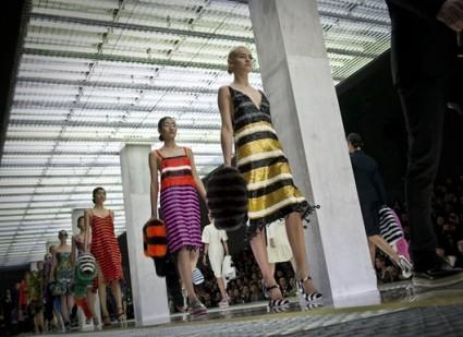 Prada runway show, Beijing, January 2011