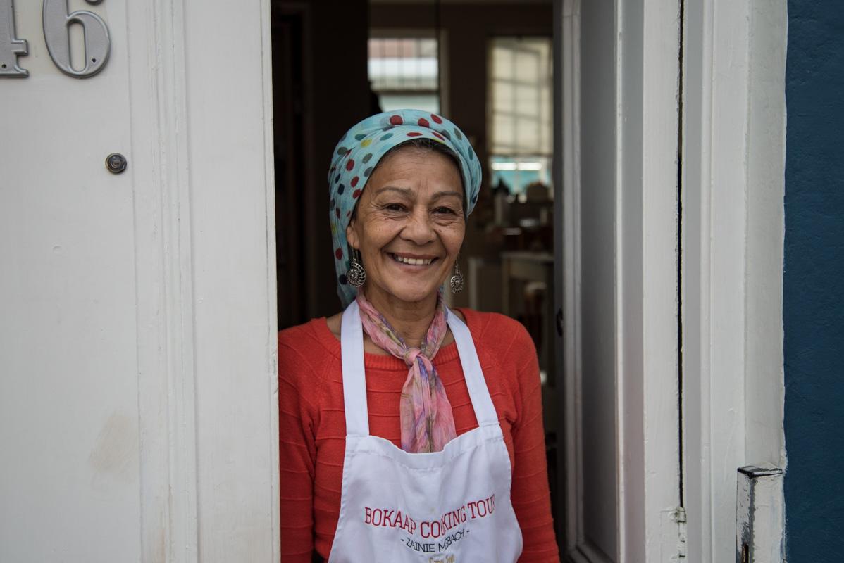 Zainie Misbach, Cape Malay chef