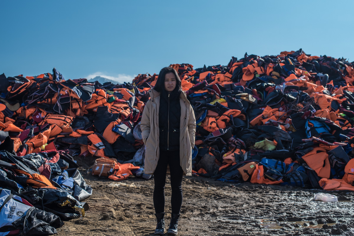 Shelley Cheung, director of  She Is Syria