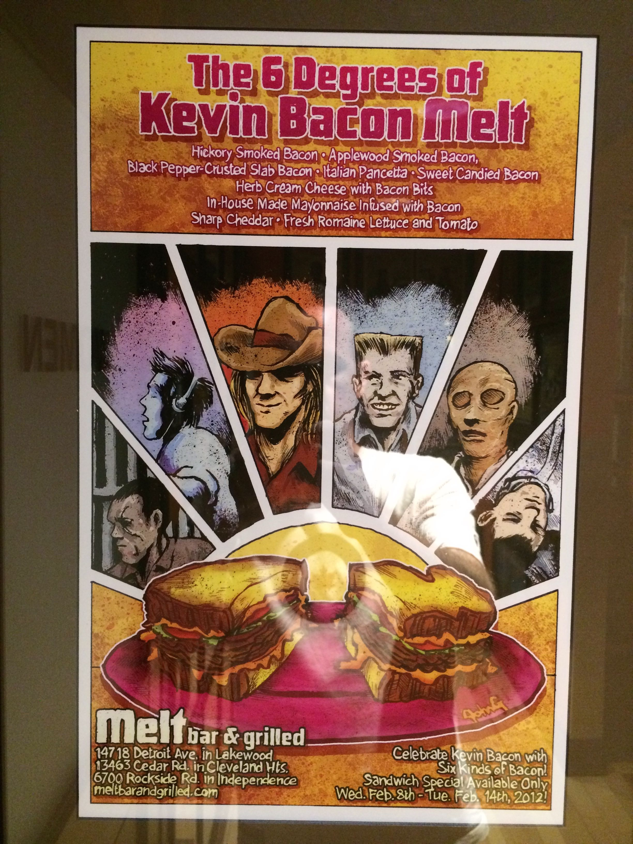 The 6 Degrees of Kevin Bacon Melt