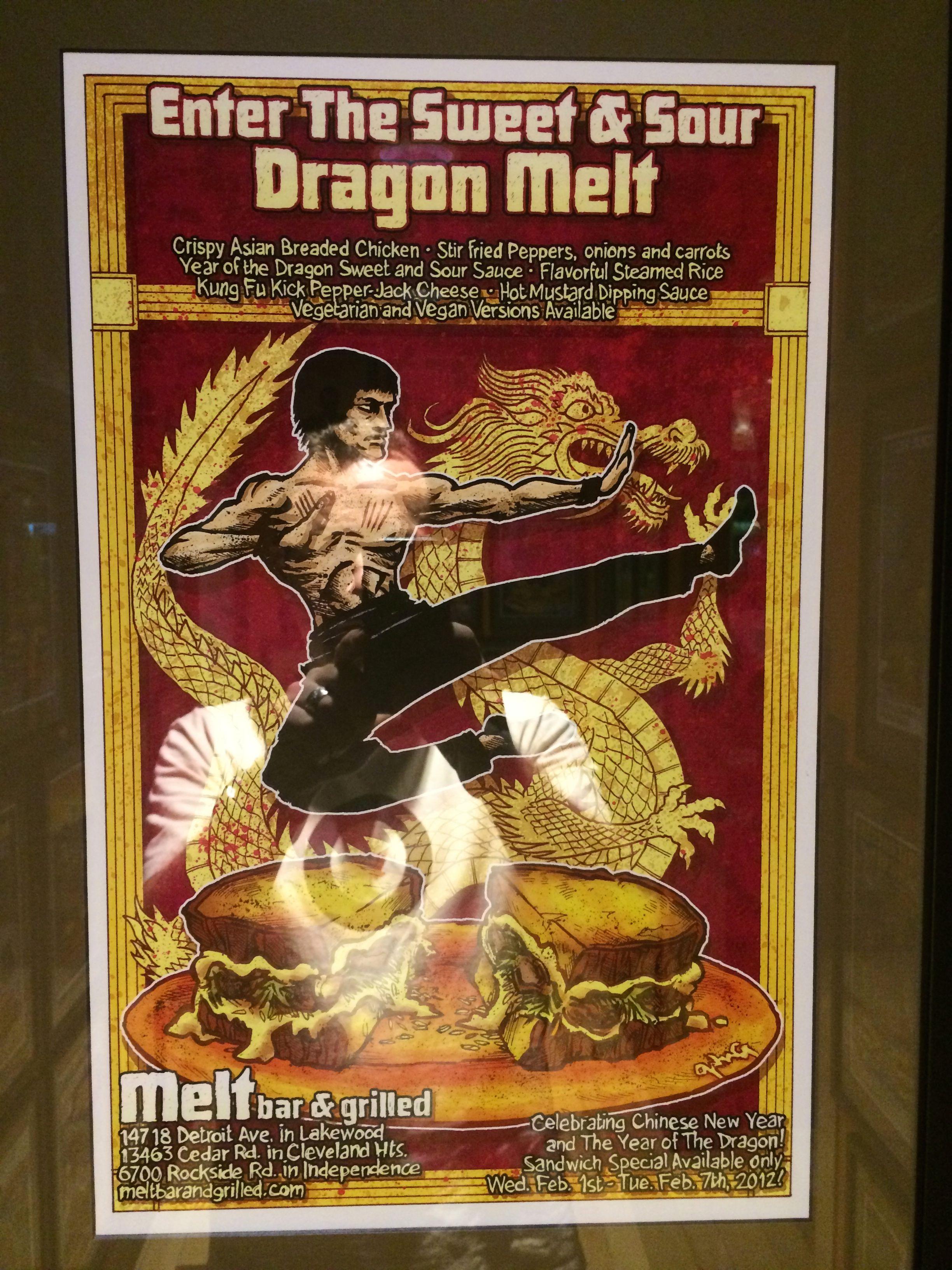 Enter the Sweet & Sour Dragon Melt