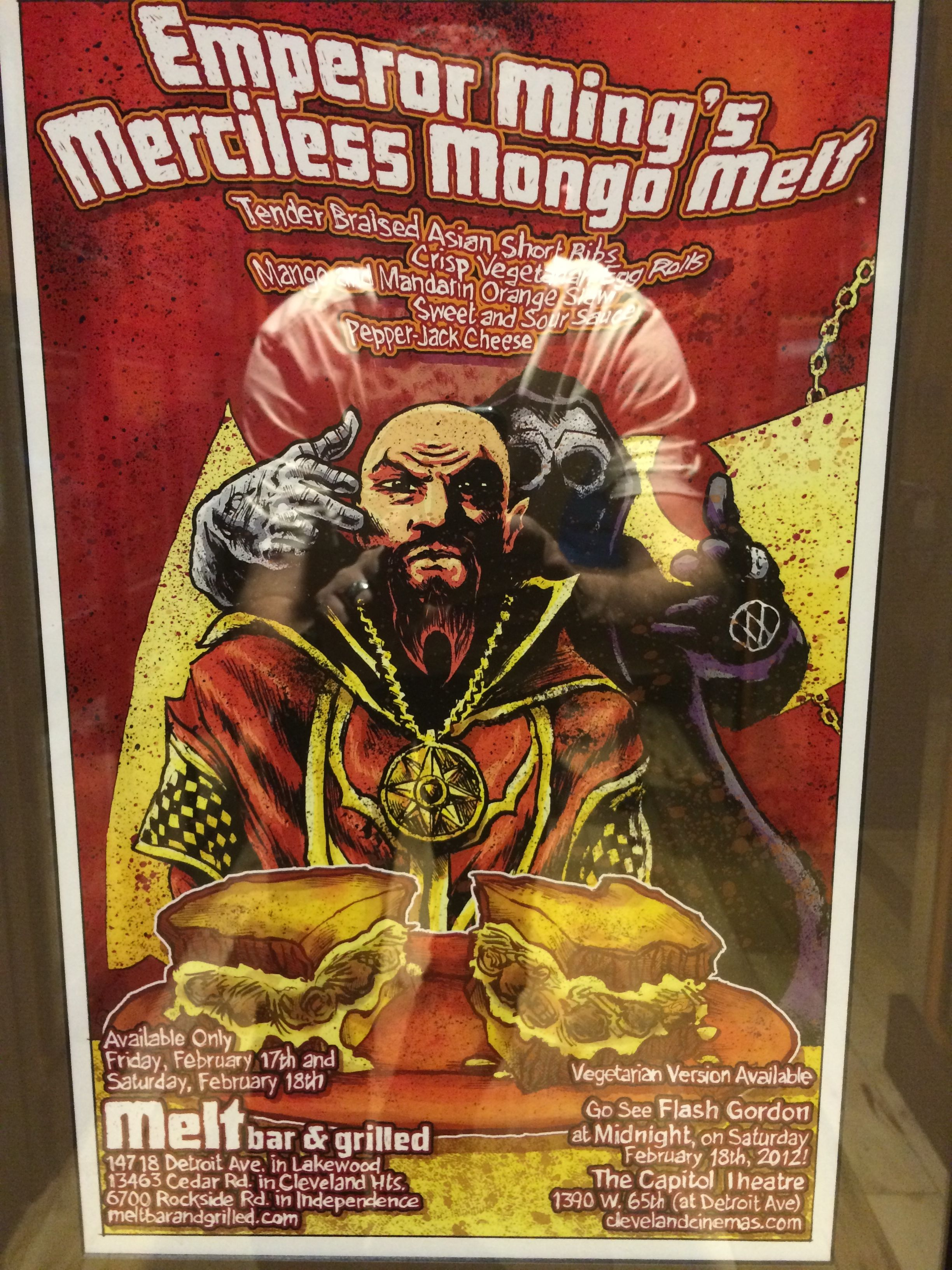 Emperor Ming's Merciless Mongo Melt