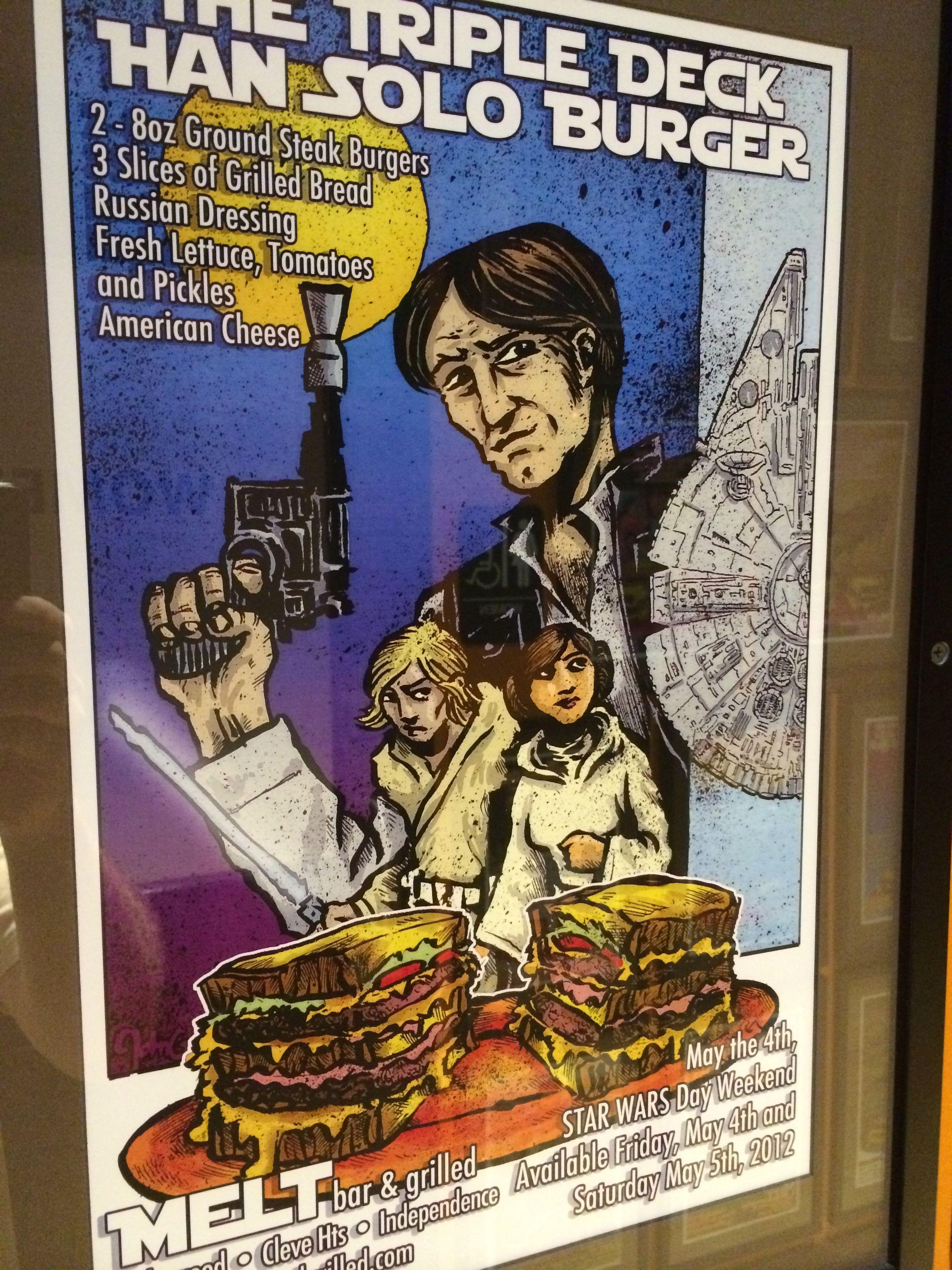 The Triple Deck Han Solo Burger