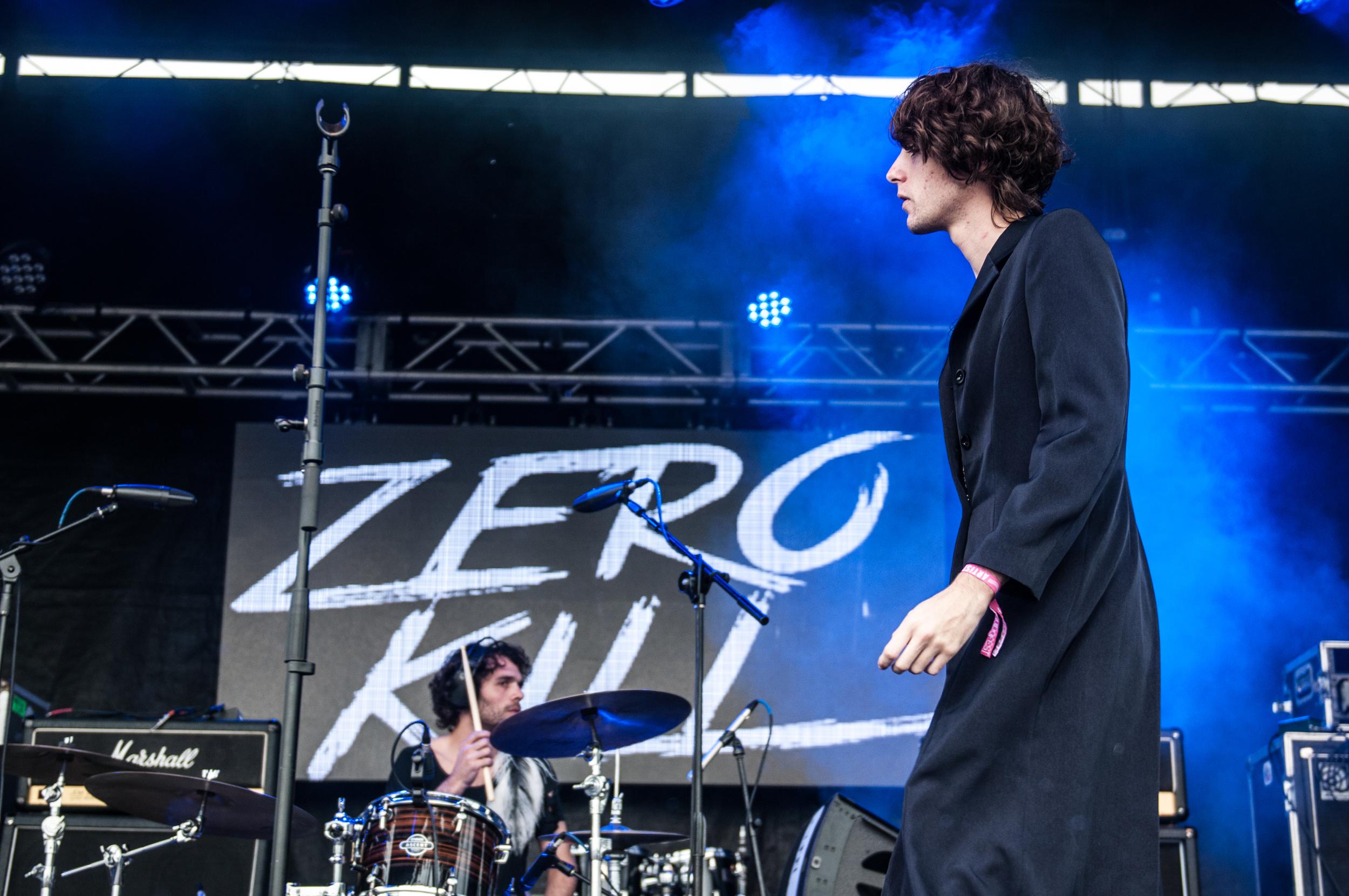 BENITO CERATI en ACCION con ZERO KILL en RUIDO FEST 2015